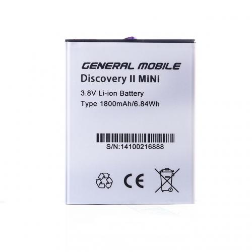 General Mobile Discovery E3 2 Mini Batarya Pil
