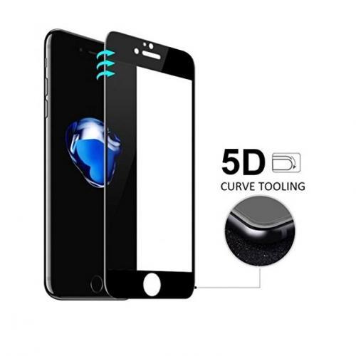 İphone 7 Ekran Koruyucu Cam 5D Tam Koruma