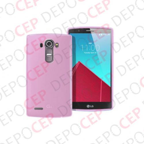LG G4 Stylus Silikon Kılıf Renkli