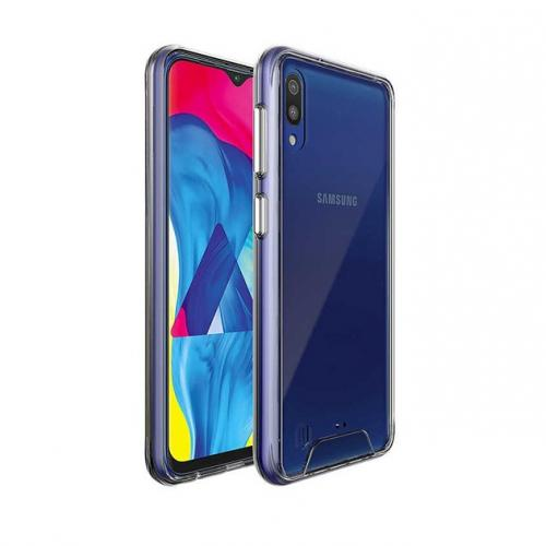 Samsung Galaxy M10 Şeffaf Silikon Kılıf