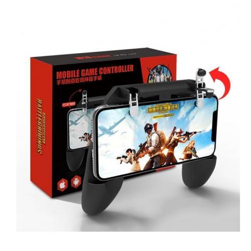 Tüm Telefonlar İçin Oyun PubG Joystick Ateş Tetik Düğmesi W10